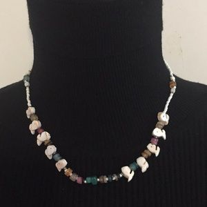 Vintage Mother Pearls Stone Necklace